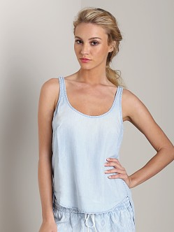 Bella Dahl Scoop Neck Tank Sun Worn