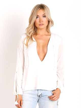 The Jetset Diaries Verano Blouse Ivory