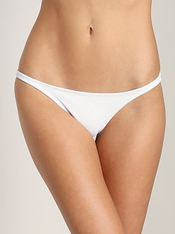 Made by Dawn Petal Bikini Bottom Snow