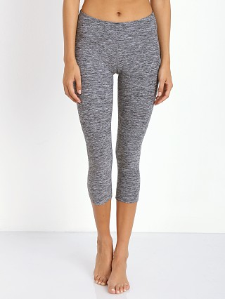 Beyond Yoga Capri Legging Black Space Dye