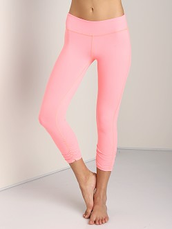 Beyond Yoga Gathered Legging Coral Fusion