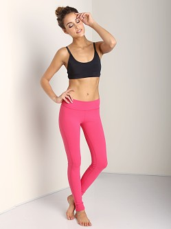 Beyond Yoga Side Panel Long Legging Hibiscus Pink