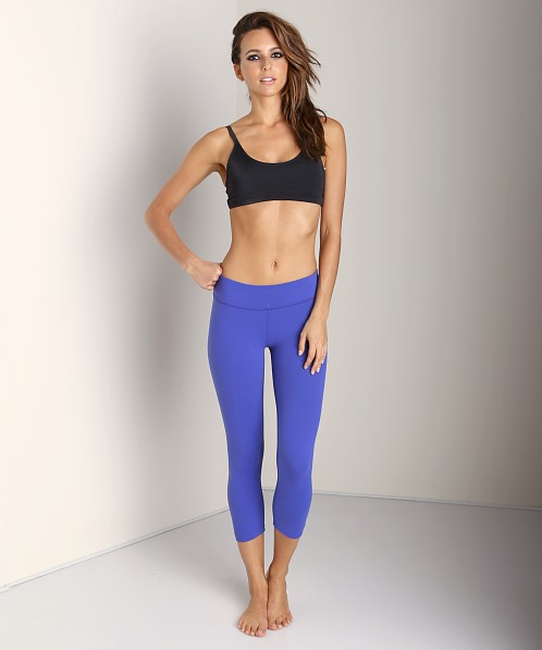 Beyond Yoga Back Gather Legging Isis Blue