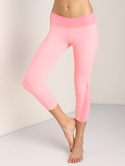 Beyond Yoga Side Triangle Legging Coral Fusion