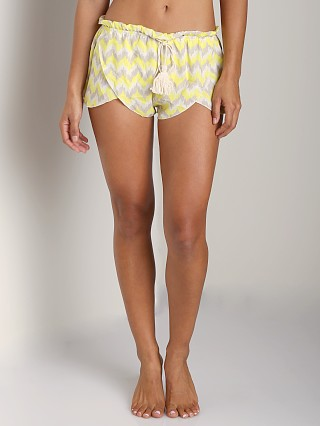 Complete the look: Eberjey Painted Spirit Tulip Short Citrus Glow/Jute