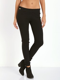 WILDFOX Angora Blend Leggings Clean Black