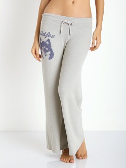WILDFOX Vintage Wolf Baggy Beach Pants Morning Mist