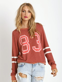 WILDFOX Sporty 83 Baggy Beach Jumper Fox Fur