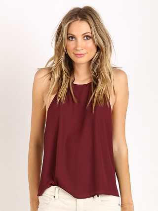 Show Me Your Mumu Selena Top Merlot Crisp