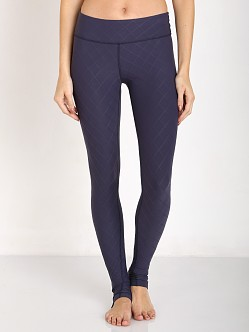 Beyond Yoga Quilted Long Legging True Navy