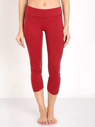 Beyond Yoga Back Gather Legging Garnet Red