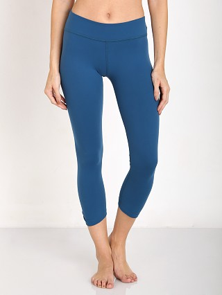 Beyond Yoga Back Gather Legging Mosaic Blue