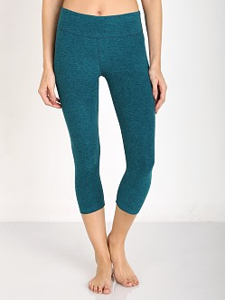 Beyond Yoga Space Dye Capri Legging Mosaic Blue/Teal