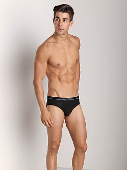 Hugo Boss Energy Microfiber Hip Brief Black