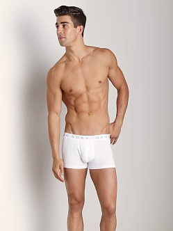 Hugo Boss Pure Cotton Boxer 3 Pack White