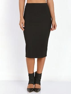 Lovers + Friends Day to Night Pencil Skirt Black