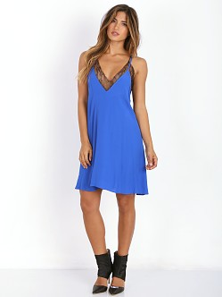 Lovers + Friends Ginger Dress Cobalt