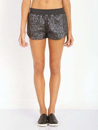 Lovers + Friends Quinn Shorts Gunmetal