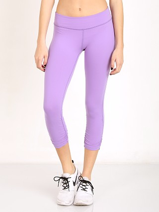 Beyond Yoga Essential Gathered Capri Legging Lavender Mist
