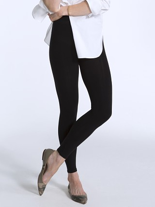 SPANX Seamless Leggings Cotton Black