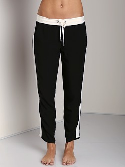 Splendid Athens Colorblock Pants Black/Sand Dollar
