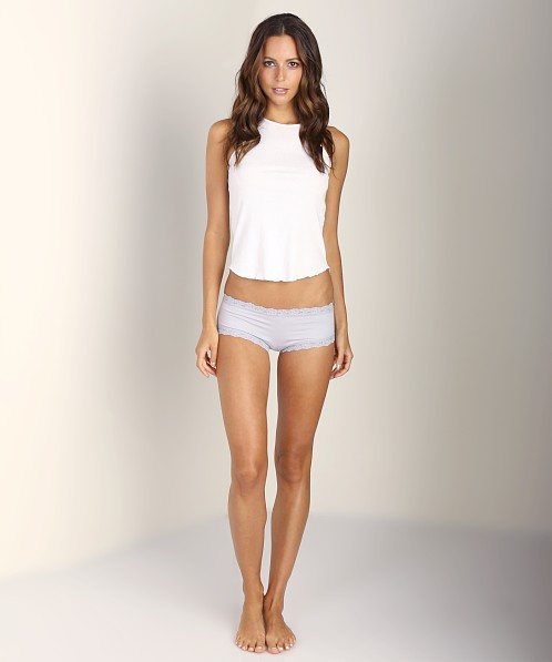Hanky Panky Cotton Boyshort Mystic Grey