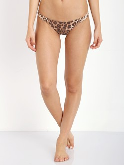 Vitamin A Samba Ruched Back Bottom Leopard