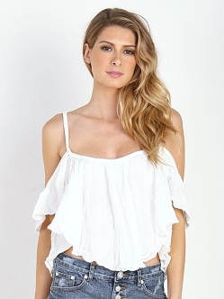 Jen's Pirate Booty La Rose Top White