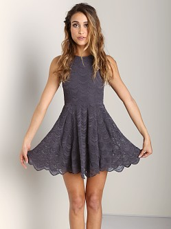 Nightcap Belize Fit n' Flare Dress Ash