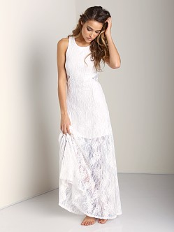 Nightcap Marigold Cutout Maxi White
