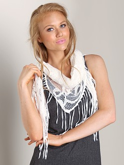 Nightcap Italian Knit Scarf Natural