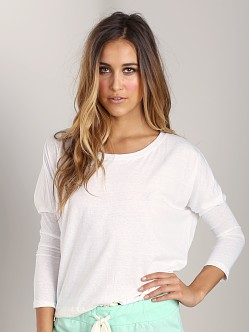 Eberjey Heather Slouchy Tee Cloud