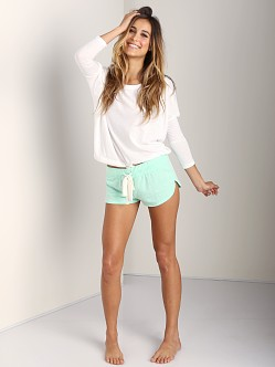Eberjey Heather Shorts Mint Glow
