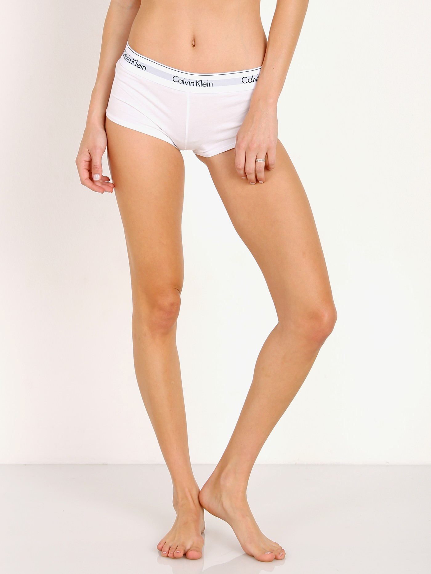 c29c2a512aa Calvin Klein Modern Cotton Short White F3788 - Free Shipping at Largo Drive