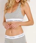 8852285c1493 Calvin Klein Modern Cotton Bralette Heather Grey F3785 - Free ...