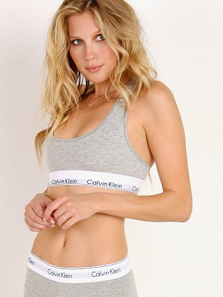 You may also like: Calvin Klein Modern Cotton Bralette Heather Grey