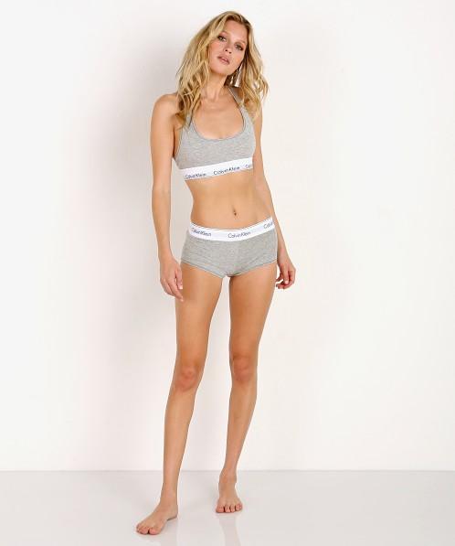 b5e8bef50601 Calvin Klein Modern Cotton Bralette Heather Grey F3785 - Free Shipping at Largo  Drive