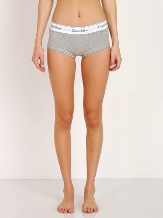 Complete the look: Calvin Klein Modern Cotton Short Heather Grey