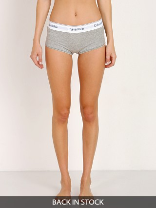 Calvin Klein Modern Cotton Short Heather Grey