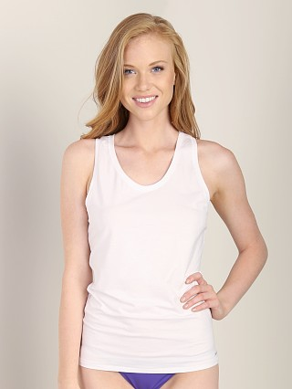Complete the look: Calvin Klein Modern Cotton Racerback Tank White