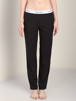 Calvin Klein Modern Cotton Straight Leg Pant Black