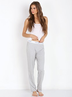 Calvin Klein Modern Cotton Straight Leg Pant Heather Grey