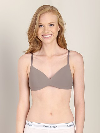 Calvin Klein Perfect Fit Wirefree Contour Bra French Roast