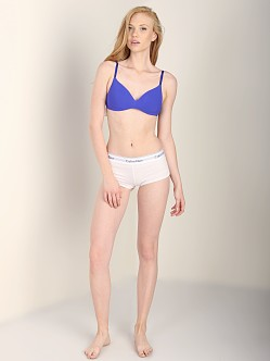 Calvin Klein Summer Solutions Wirefree Contour Bra Blue Royal