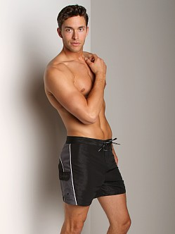 Calvin Klein Colorblock Swim Boxer Black