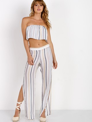 Roe + May Georgia Pant Coastal Stripe