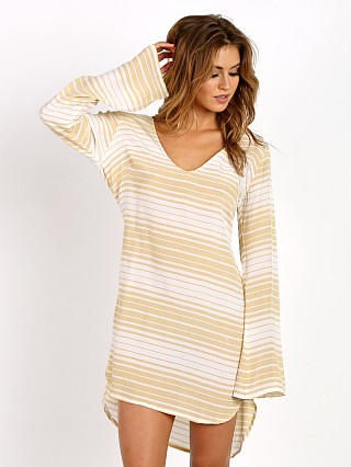 Faithfull the Brand Apart Dress Beach Stripe