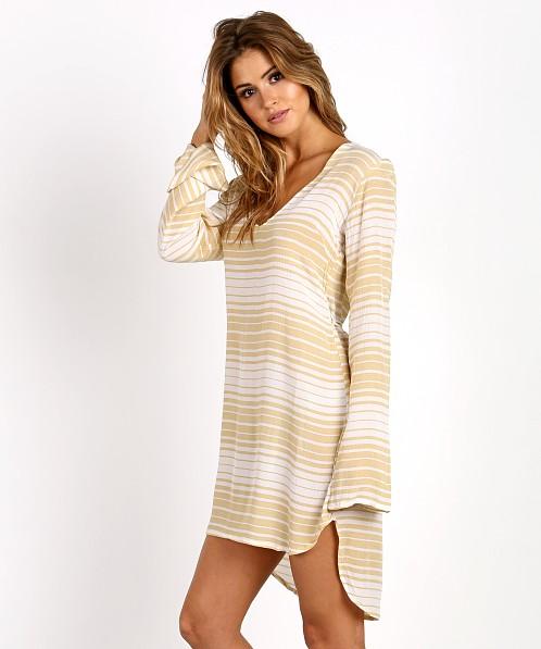 Faithfull The Brand Apart Dress Beach Stripe FF708