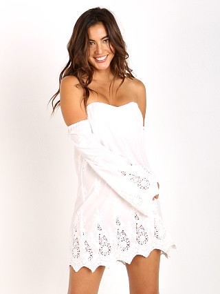 Stone Cold Fox Marrakesh Dress White