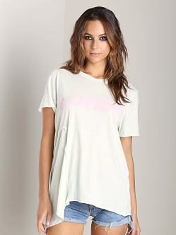 WILDFOX Loner Scrap T Sea Mist